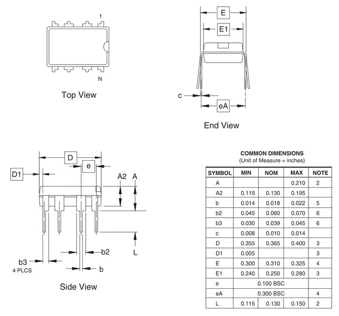 ATtiny85 Microcontroller Pinout, Features, Specs & Datasheet