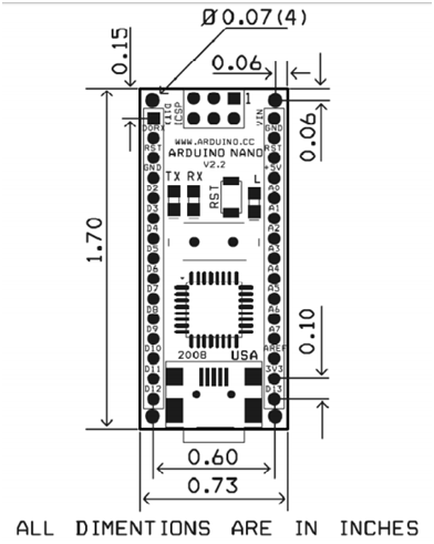 arduino nano pin diagram  features  pin uses  u0026 programming
