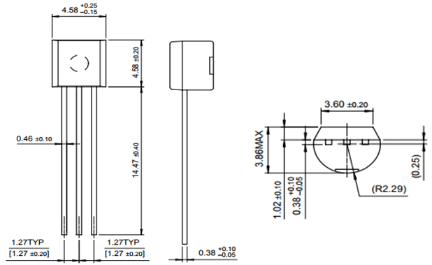 BC549 NPN Transistor Pinout, Features, Equivalent & Datasheet
