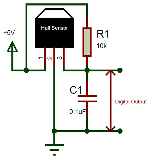 a3144 hall effect sensor pinout, working, alternatives & datasheet  hall sensor wiring diagram #9