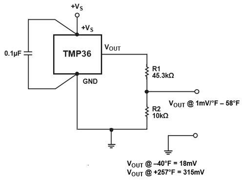 Groovy Tmp36 Temperature Sensor Pinout Features Equivalent Circuit Wiring Cloud Hisonuggs Outletorg