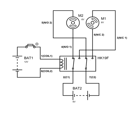 spdt relay switch datasheet
