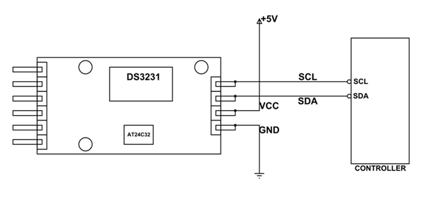 ds3231 rtc module pinout  configuration  example circuit