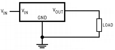 Fixed type LM1084 Positive Regulator Connection