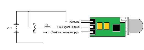 hcsr505 pir sensor pinout features circuit  datasheet