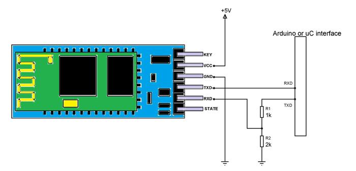 HC 06 Bluetooth module pinout, features & datasheet