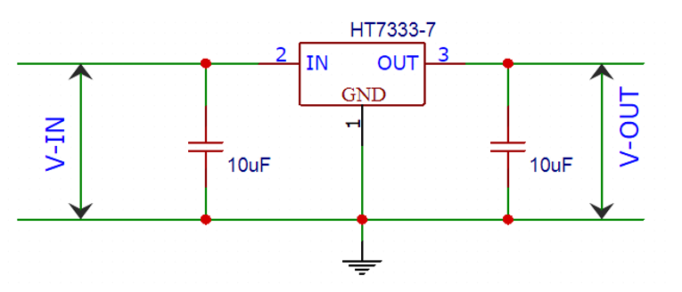 HT7333 Application Circuit