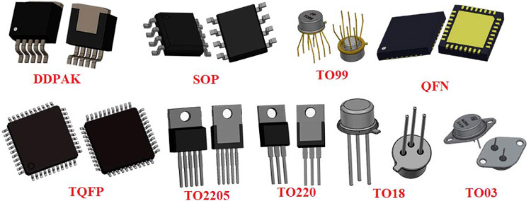 Different Types of IC Packages
