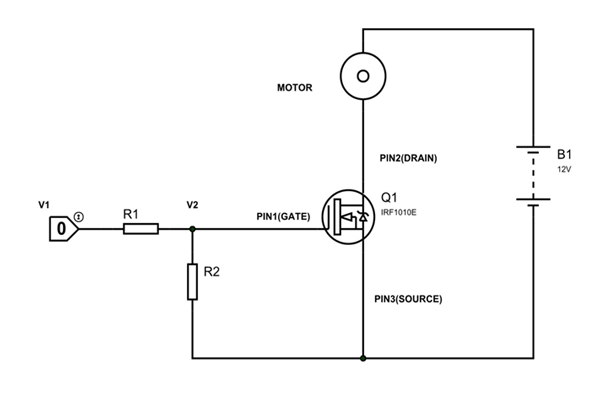 IRF1010E Circuit Diagram