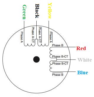 Nema Wiring Diagram from components101.com