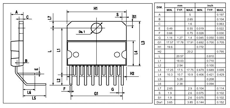 l298 ic pinout  pin configuration  features  u0026 datasheet