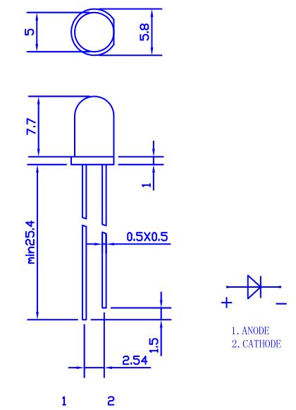 LED 2D-model