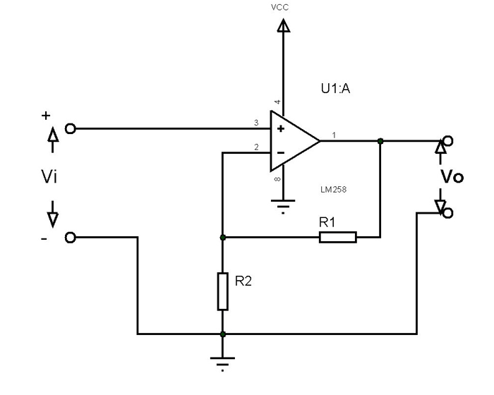 LM258 Application Circuit