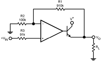 LM321 Application Circuit