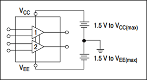 LM324 Dual Supply Connection