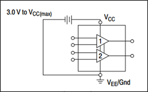 LM324 Single Supply Connection