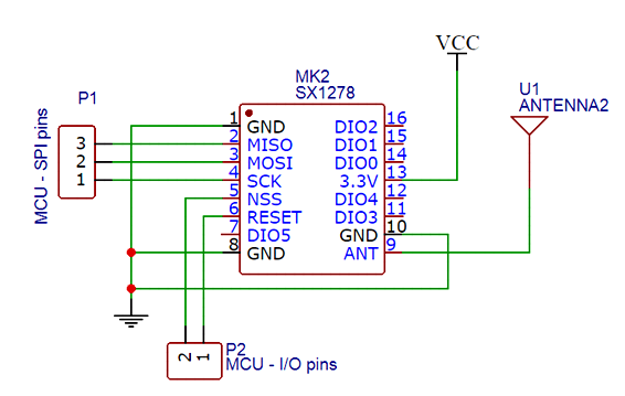 Lora circuit diagram