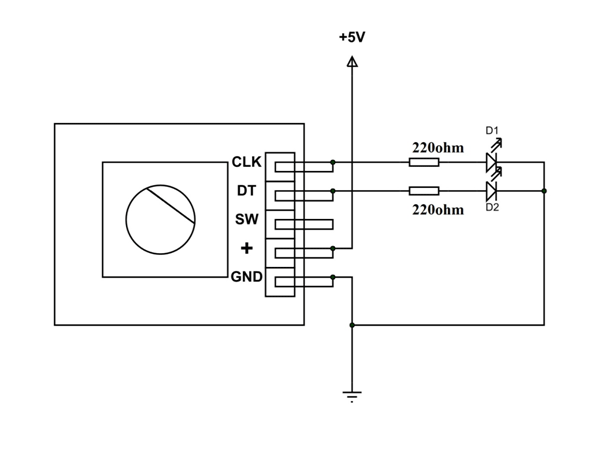 rotary encoder pinout features circuit and working rh components101 com  optical rotary encoder circuit diagram