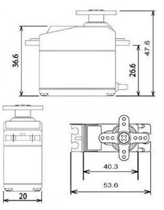 MG996R Servo Motor Datasheet, Wiring Diagram & Features