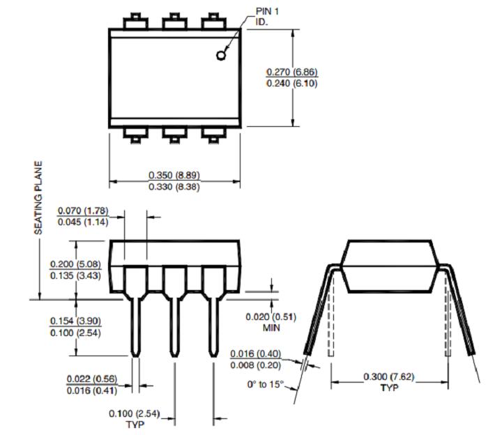 moc3041 optocoupler datasheet  pinout  features  u0026 equivalents
