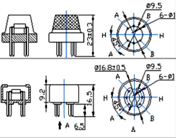 mq2 gas sensor pinout  features  equivalents  u0026 datasheet