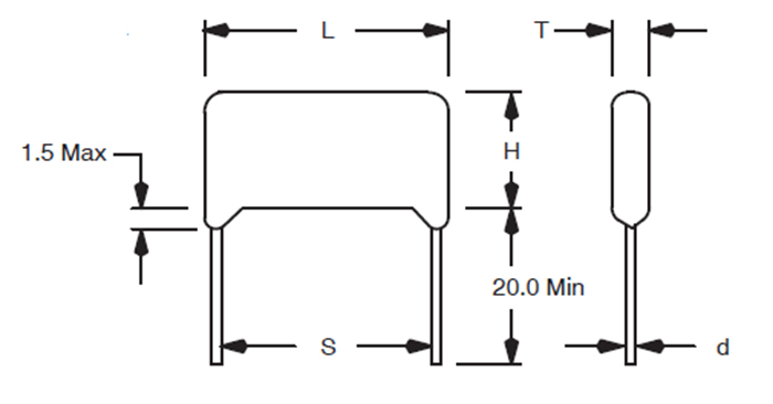 Mylar Capacitor Features, Polarity, Symbol & Datasheet