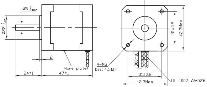 nema 17 stepper motor datasheet  wiring  specs  u0026 alternatives