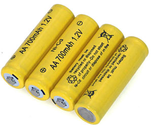 Ni-Cd batteries