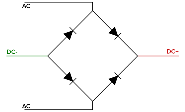 rb-156 bridge rectifier diodes