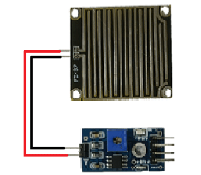Rain Board Module with Rain Drop Sensor