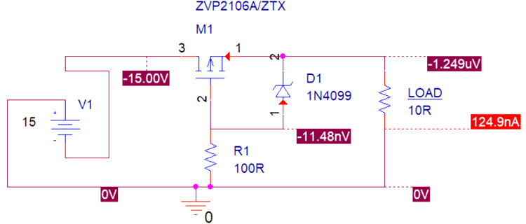 Reverse Voltage Polarity Protection Circuit