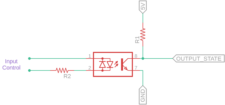 SFH620A Application Circuit