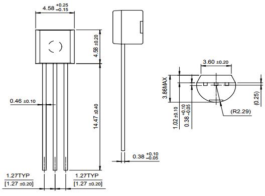 SS9014 Bipolar NPN Transistor Pinout, Equivalent, Features & Datasheet