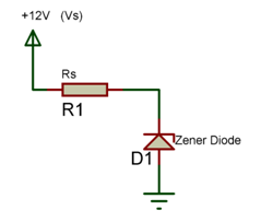 Simple Zener Diode Circuit