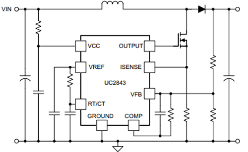 UC3842 Application Circuit