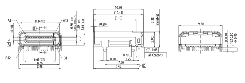 Usb Type C Connector Pinout Features And Datasheet