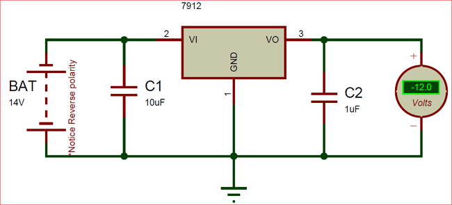 Buy 79m12 Linear Voltage Regulator Ic Online At The Best