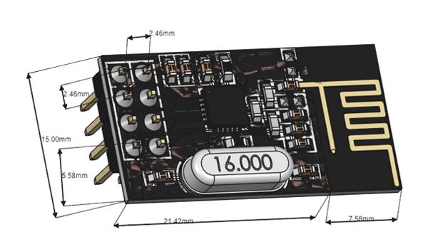 nRF24L01 Pinout  Features     Circuit      Datasheet