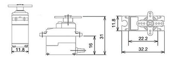 Servo Motor SG-90 Basics, Pinout, Wire Description, Datasheet