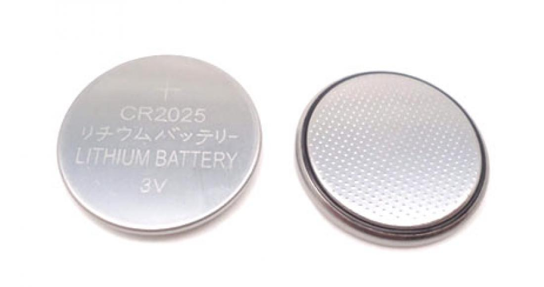 CR2025 Lithium Coin Battery
